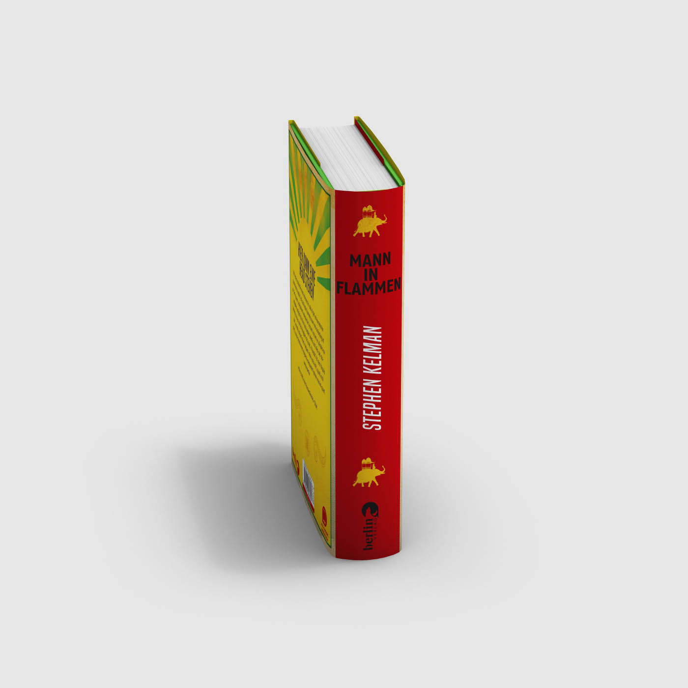 Stephen Kelman * Mann in Flammen * Berlin Verlag